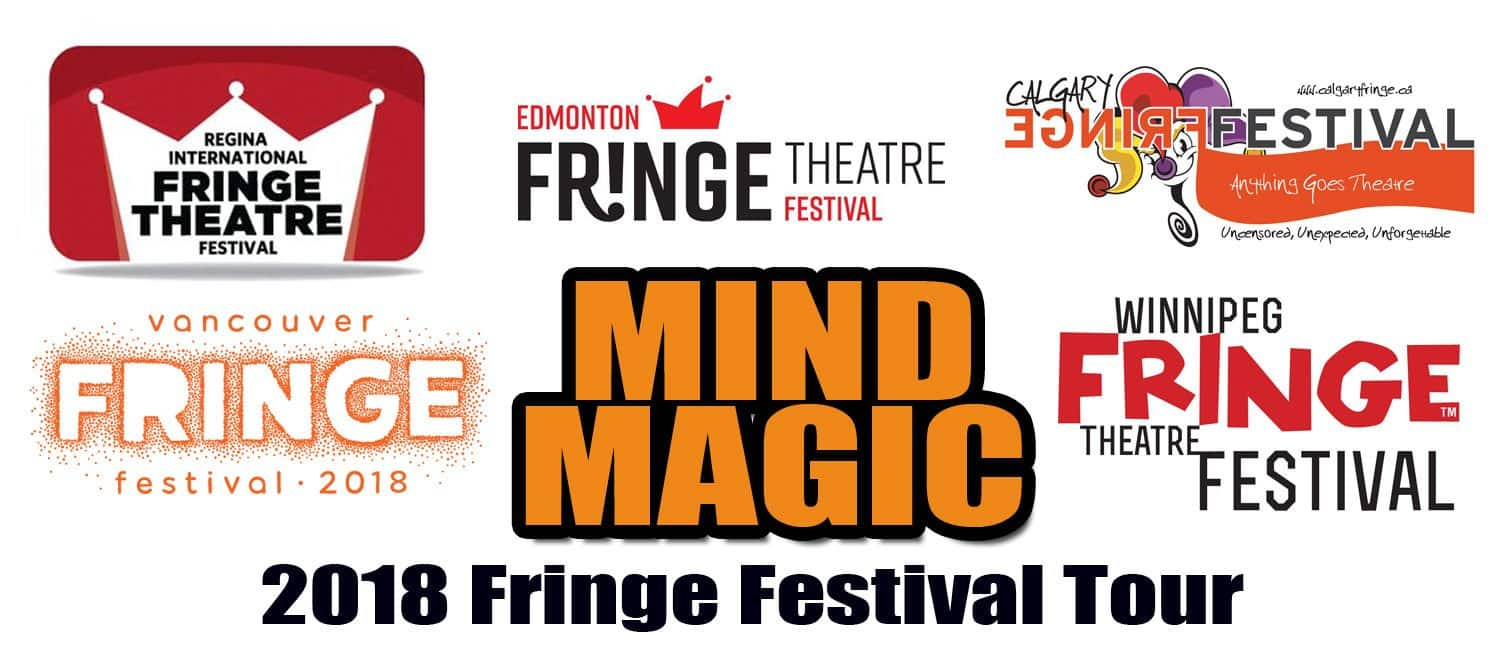 Pezzani MIND MAGIC Canada Fringe Festivals
